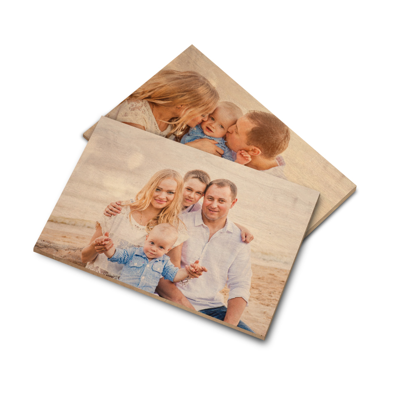 Printing Photos on Wood