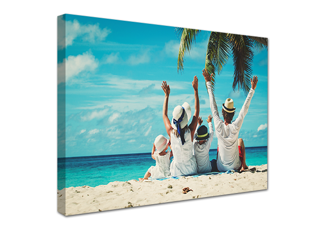 Favourite Vacation Photos On Canvas