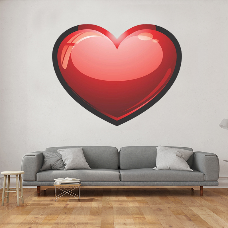 Heart Design Wall Decals
