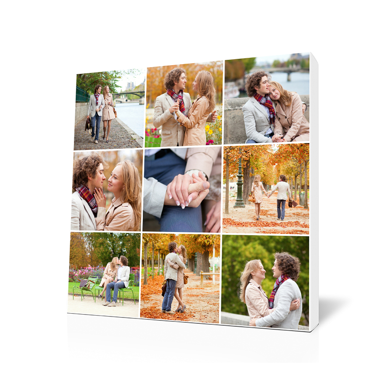 A Loving Couple Photo Mosaic