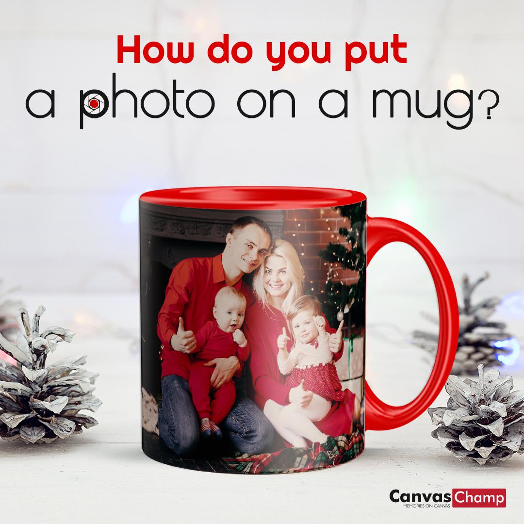 Photos on Mug