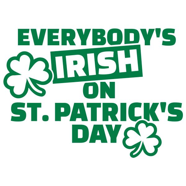 Irish on St.Patrick's Day