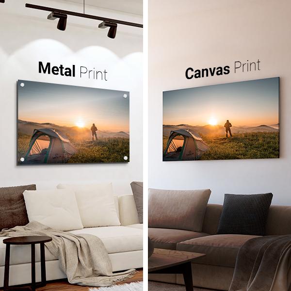 Canvas Prints Vs Metal Prints