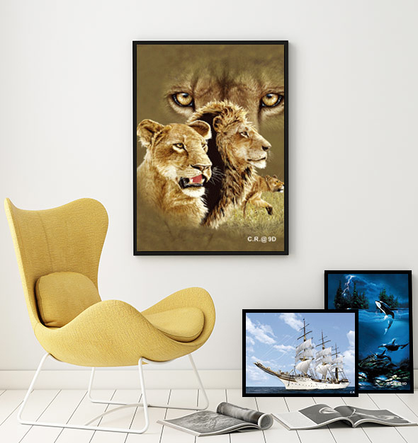 works best with 3D photo prints