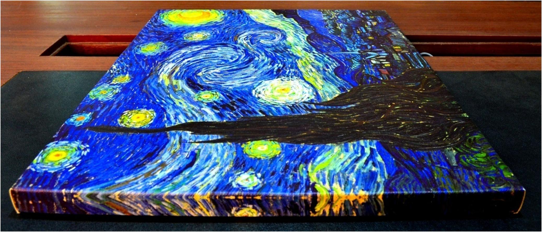 Starry Night Canvas Art Vincent Van Gogh