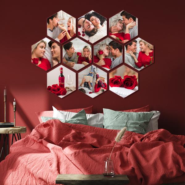 Hexagon Canvas Prints