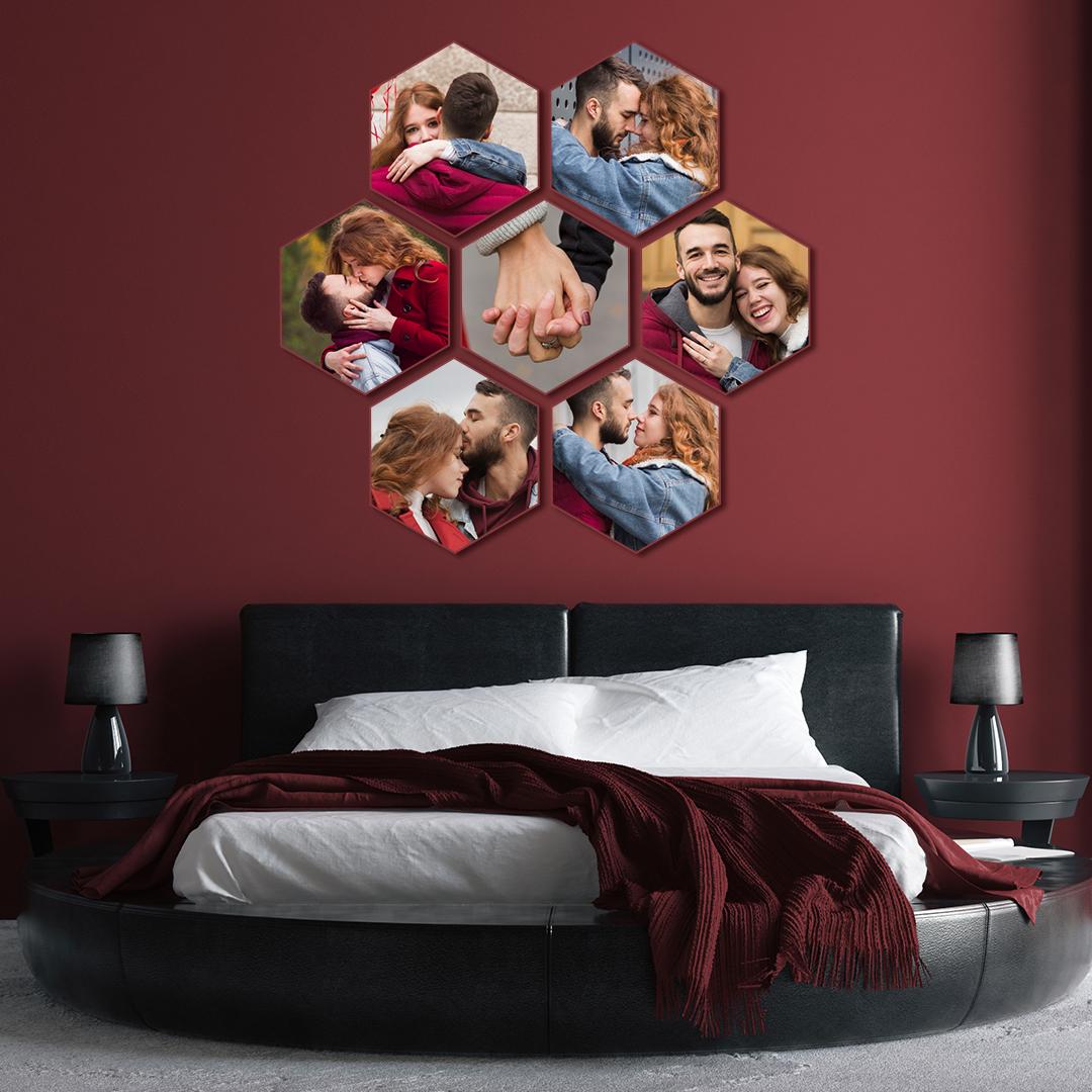 hexagon prints