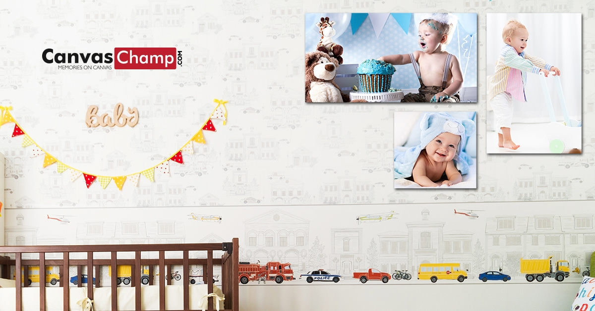baby canvas memories on prints