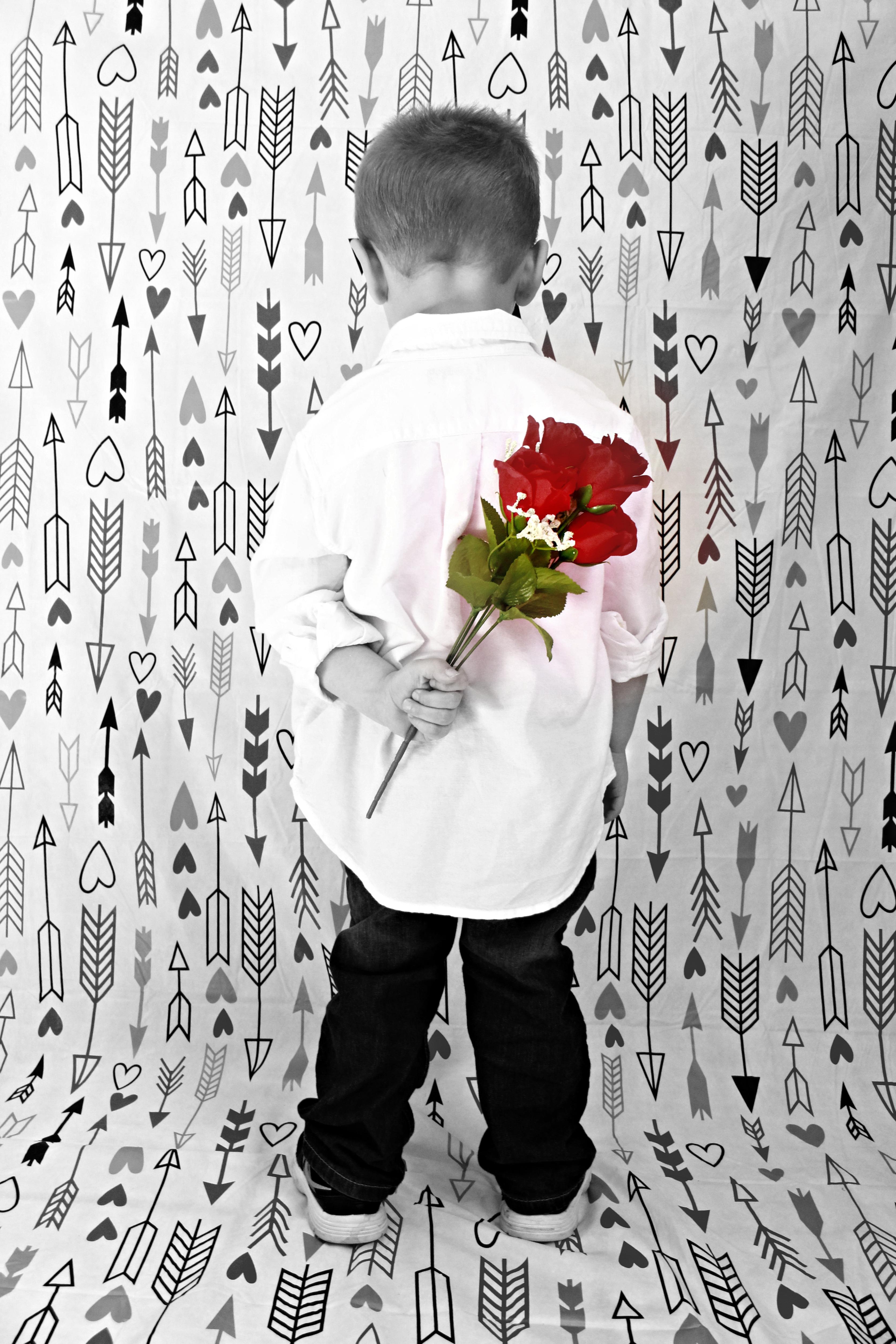 Valentine's day roses by Jenifer Cogburn