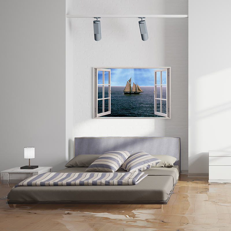 A View On Canvas Print