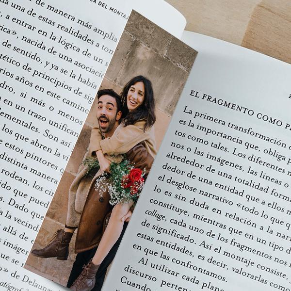 custom photo bookmark