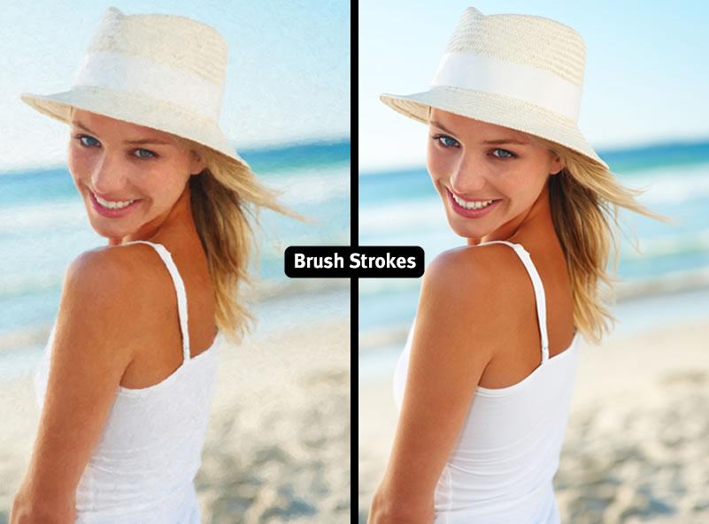 Brush Strokes Canvas