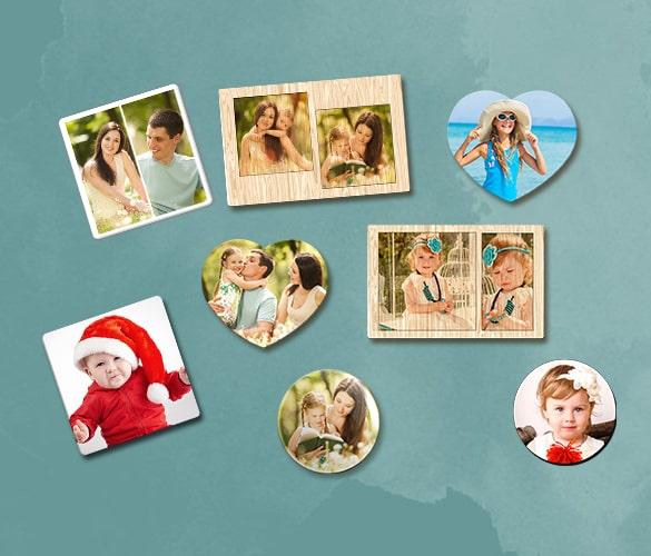 Customized Photo Magnets