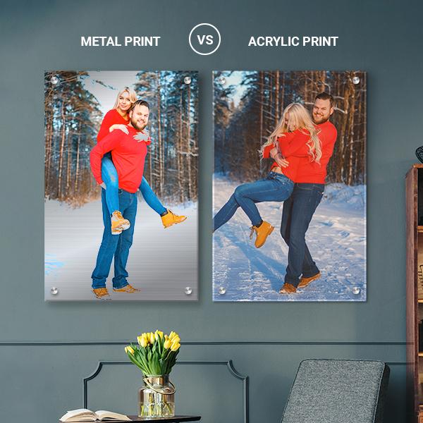 metal prints vs canvas prints