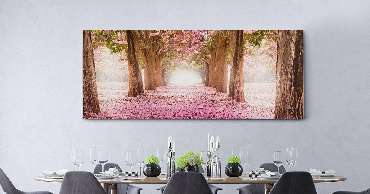 Nature Panoramic Canvas