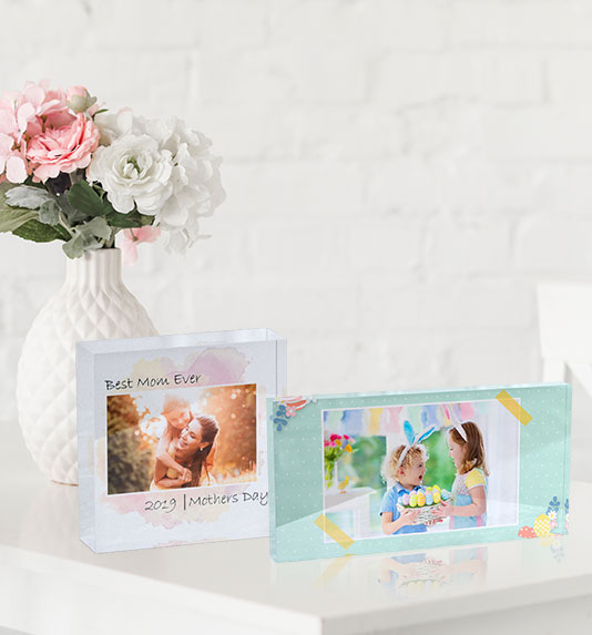 Personalized Acrylic Blocks