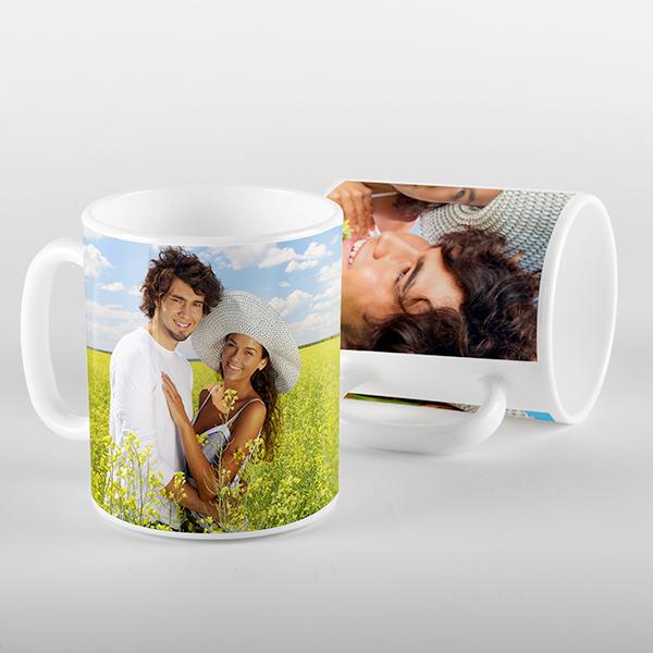 Photos on a Mug