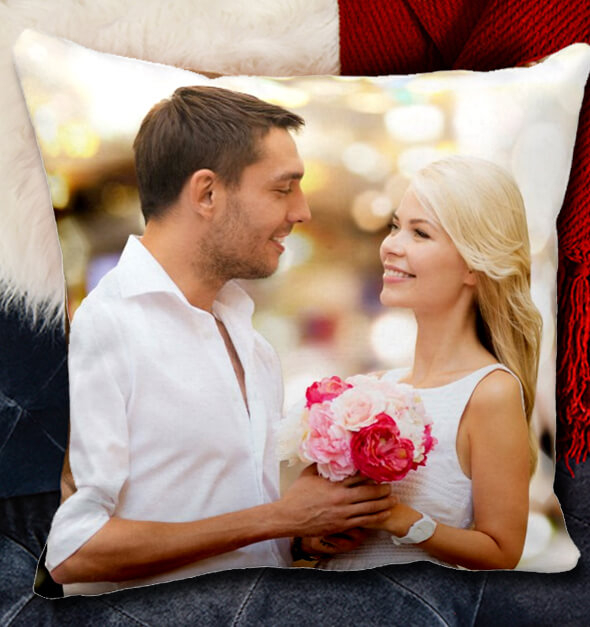 Bright Photo Pillow