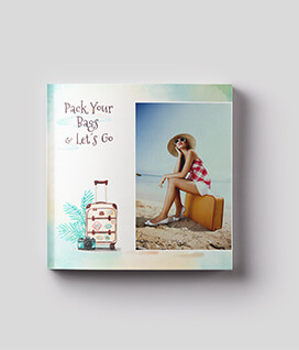Custom Photos on Books