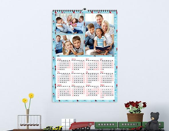 Custom Poster Calendar