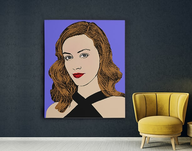 Pop Art on Canvas