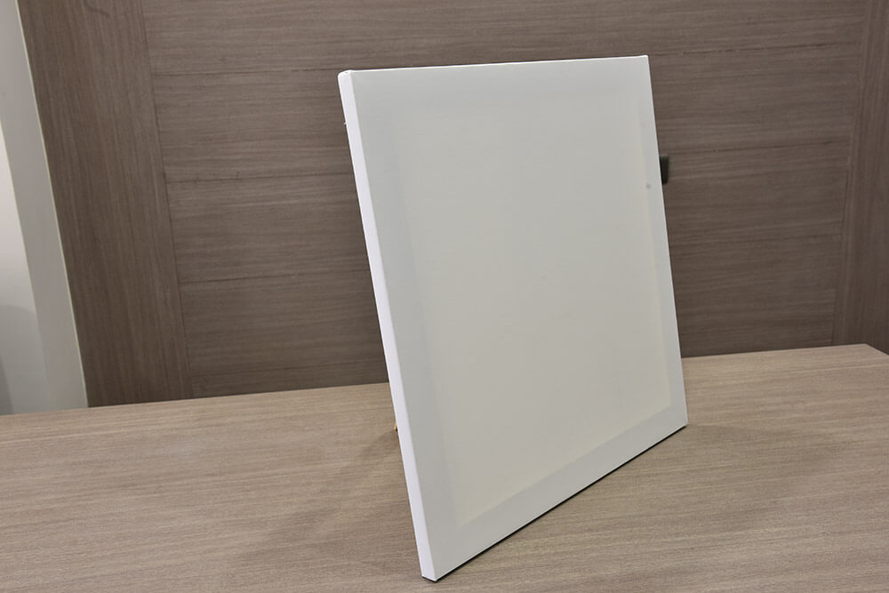 Stretched Canvas Is Ready