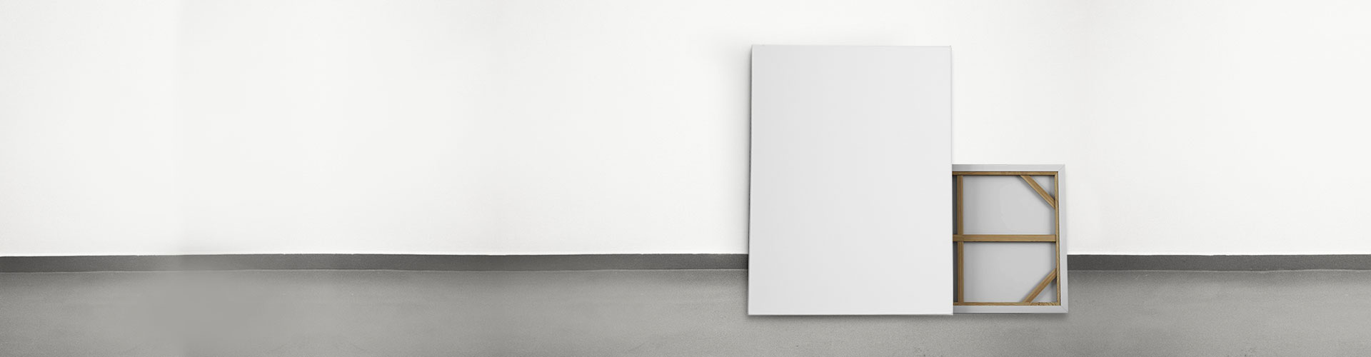 BLANK PRE-STRETCHED CANVAS