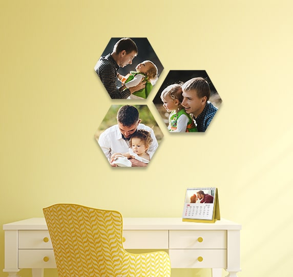 Hexagon Canvas Prints