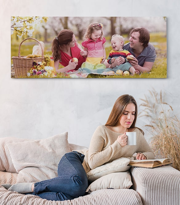 PANORAMIC CANVAS PRINTS INFO