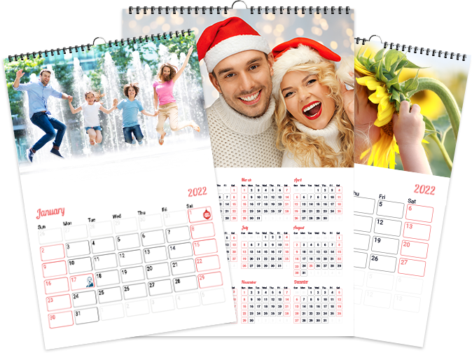 Personalize a Calendar from Photos