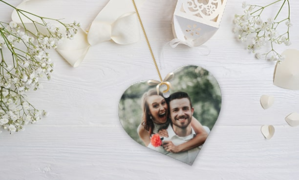 Metal Photo Ornaments