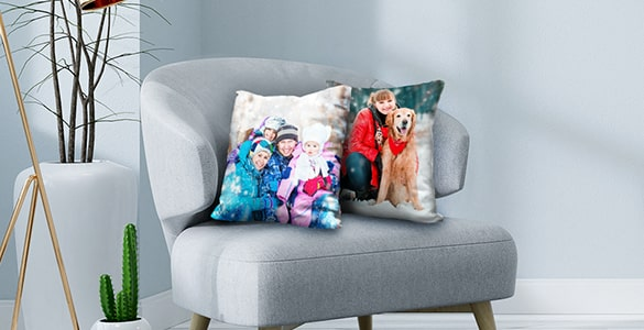 Personalised Photo Pillows for Any Room