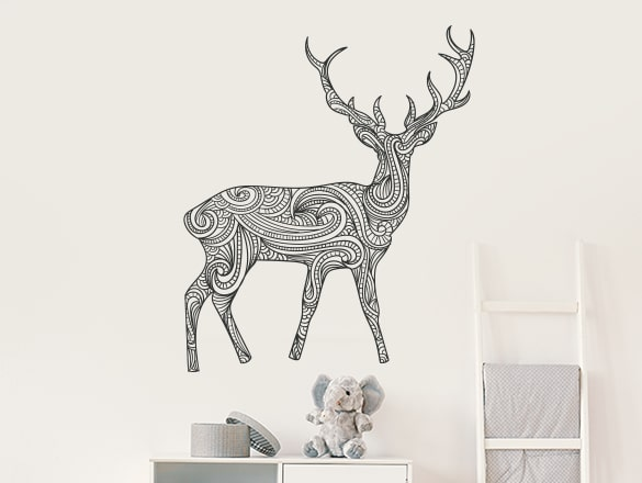 How Our Peel and Stick Wall Decals Will Add a Tinge