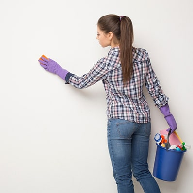 Do you need to clean your wall decals?